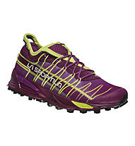 La Sportiva Mutant - scarpe trail running - donna, Plum/Apple