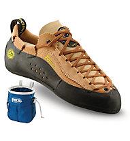La Sportiva Mythos - scarpette da arrampicata - uomo, Brown