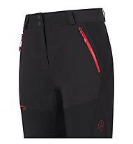 La Sportiva Namor - pantaloni sci alpinismo - donna, Black/Grey