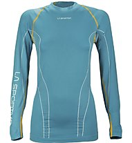 La Sportiva Neptune 2 Long Sleeve Damen Funktionsshirt Langarm, Light Blue