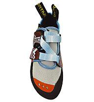 La Sportiva Oxygym - scarpetta arrampicata donna, White/Coral