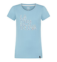 La Sportiva Pattern - T-Shirt - Damen, Blue