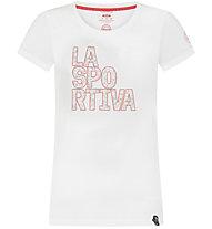 La Sportiva Pattern - T-Shirt - Damen, White