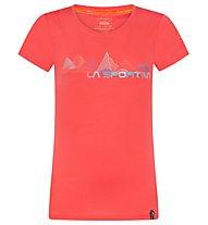 La Sportiva Peaks - T-shirt arrampicata - donna, Red