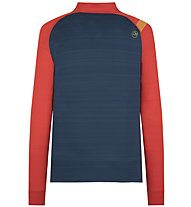 La Sportiva Planet - Langarmshirt - Herren, Blue/Red