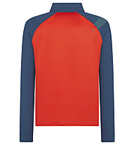 La Sportiva Planet - Langarmshirt - Herren, Red/Blue