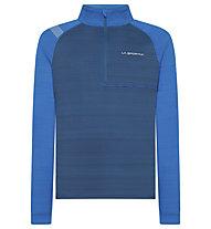 La Sportiva Planet - Langarmshirt - Herren, Blue/Light Blue