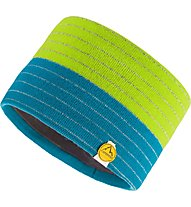 La Sportiva Power - Stirnband Skitouren, Green/Blue