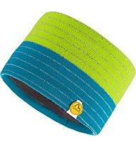 La Sportiva Power - fascia paraorecchie sci alpinismo - uomo, Green/Blue