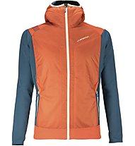 La Sportiva Primus 2.0 Hoody Herren Hybridjacke mit Kapuze, Orange