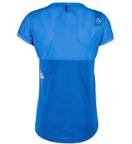 La Sportiva Push - T-Shirt Klettern - Damen, Light Blue