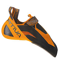 La Sportiva Python - scarpette da arrampicata - uomo, Black/Orange