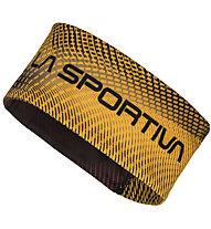 La Sportiva Race Headband - fascia paraorecchie - uomo, Black/Yellow