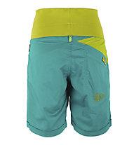 La Sportiva Ramp - pantaloni corti arrampicata - donna, Blue/Green
