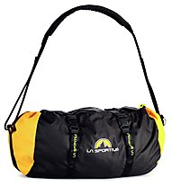 La Sportiva Rope Bag Small - Zaino portacorde, Black/Yellow
