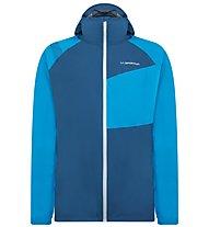 La Sportiva Run JKT M - giacca trail running - uomo, Blue/Dark Blue