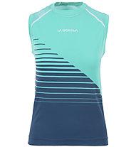 La Sportiva Runner Tank - Trailrunning-Top - Damen, Blue/Light Blue