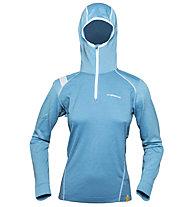 La Sportiva Saturn - Felpa con cappuccio scialpinismo - donna, Blue Moon