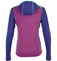 La Sportiva Saturn - Pullover mit Kapuze Skitouren - Damen, Pink/Violet