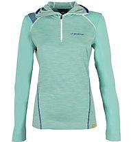 La Sportiva Saturn - Pullover mit Kapuze Skitouren - Damen, Green