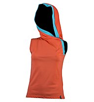 La Sportiva Shadow - top arrampicata - donna, Orange