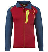 La Sportiva Shamal - giacca in pile - uomo, Blue/Red