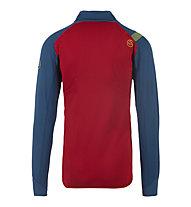 La Sportiva Shamal - Fleecejacke Bergsport - Herren, Blue/Red
