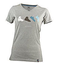 La Sportiva Shoevolution T-Shirt W, Mid Grey