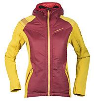 La Sportiva Siren 2.0 - Giacca ibrida trekking - donna, Red