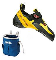 La Sportiva Skwama - Kletterschuh, Black/Yellow