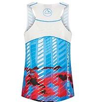 La Sportiva Sky Tank - Trailrunning Top - Damen, Blue/Red