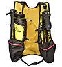 La Sportiva Sky Vest - Trailrunning Rucksack, Black/Yellow