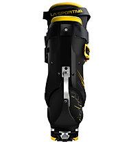 La Sportiva Solar - scarpone scialpinismo, Black/Yellow