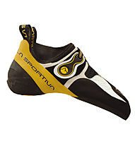 La Sportiva Solution - Kletter- und Boulderschuhe - Herren, White/Yellow