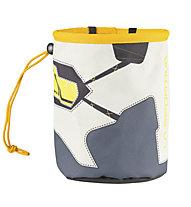 La Sportiva Solution Chalk Bag - Magnesiumbeutel, Grey/Yellow