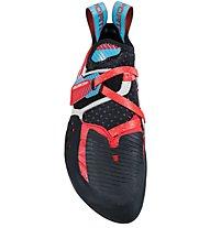 La Sportiva Solution Comp - scarpette da arrampicata - donna, Red/Light Blue