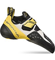 La Sportiva Solution - scarpette da arrampicata - uomo, Yellow