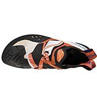 La Sportiva Solution - scarpette da arrampicata - donna, White/Orange
