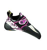 La Sportiva Solution - scarpette da arrampicata - donna, White/Pink