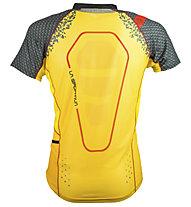 La Sportiva Sonic - T-shirt trail running - uomo, Black/Yellow