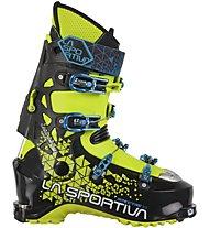La Sportiva Spectre 2.0 - scarpone scialpinismo - uomo, Black/Lime