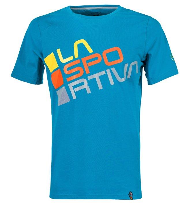 La Sportiva Square - T-shirt arrampicata - uomo, Light Blue