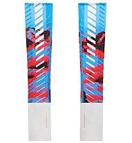 La Sportiva Stasis - Armwärmer - Damen, Light Blue/Red