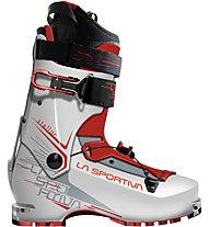 La Sportiva Stellar - scarpone da scialpinismo - donna, White/Dark Red