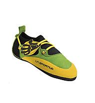 La Sportiva Stickit Scarpetta arrampicata, Lime/Yellow