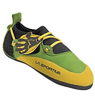 La Sportiva Stickit - Kletter- und Boulderschuhe - Kinder, Green/Yellow