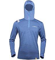 La Sportiva Stratosphere - Langarm-Shirt mit Kapuze Skitouren - Herren, Light Blue