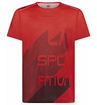 La Sportiva Stream - Trailrunnungshirt - Herren, Red/Dark Red