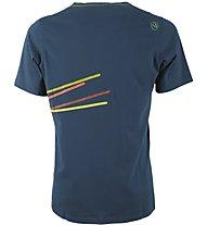 La Sportiva Stripe 2.0 - T-shirt arrampicata - uomo, Blue