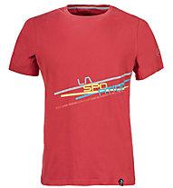 La Sportiva Stripe 2.0 - Kletter- und Boulder T-Shirt - Herren, Red
